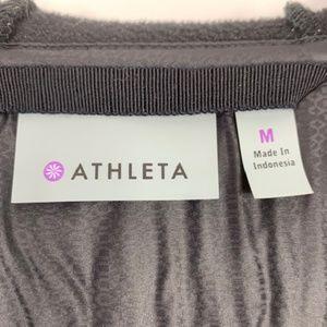 Athleta Jackets & Coats - Athleta Black Knit and Puffer Down Jacket